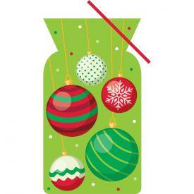 CELLO BAG, SHAPED, CHRISTMAS ORNAMENTS