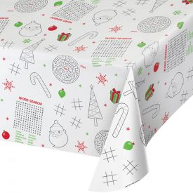 TABLECOVER, PAPER, CHRISTMAS ACTIVITY