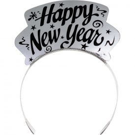 NEW YEAR TIARAS SILVER AND GOLD FOIL