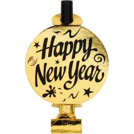 BLOWOUTS, NEW YEAR SILVER AND GOLD FOIL