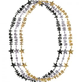 HAPPY NEW YEAR LETTER NECKLACE