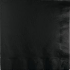 Black Velvet Lunch Napkins, 2-Ply, Bulk