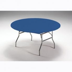 Royal Blue Stay Put Plastic Table Covers 60