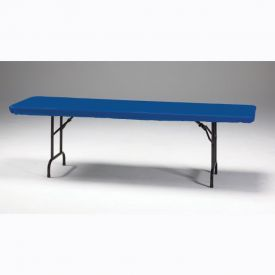 Royal Blue Stay Put Plastic Table Covers 30