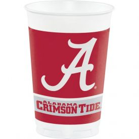 University of Alabama Plastic Cups, 20 Oz