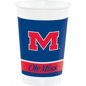 University of Mississippi Plastic Cups, 20 Oz