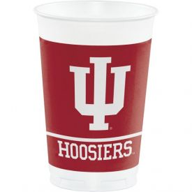 Indiana University Plastic Cups, 20 Oz