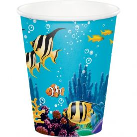 Ocean Party Cups, Hot/Cold 9 oz