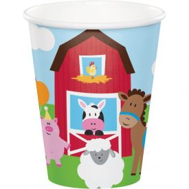 Farmhouse Fun Cups, Hot/Cold 9 oz