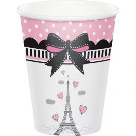 Party in Paris 9 oz Hot/Cold Cups