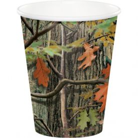 Hunting Camo Cups, Hot/Cold 9 oz