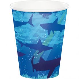 Shark Splash Cups, Hot/Cold 9 oz