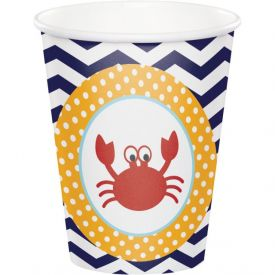 Ahoy Matey! 9 oz Hot/Cold Cups
