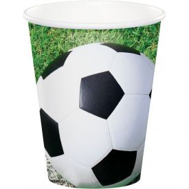 Sports Fanatic Cups, Hot/Cold 9 oz