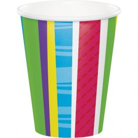 Bright And Bold Cups, Hot/Cold 9 oz