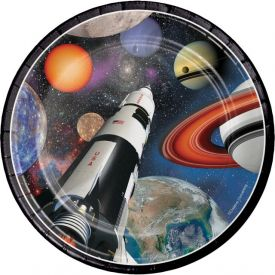 Space Blast Snack or Dessert Plates 7