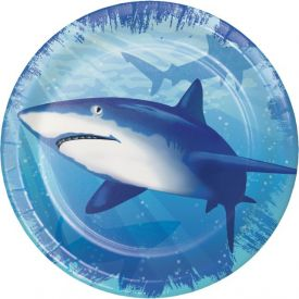 Shark Splash Snack or Dessert Plates 7