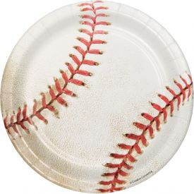 Sports Fanatic Appetizer or Dessert Plates 7
