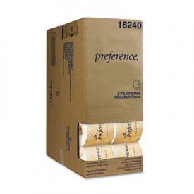 Georgia Pacific® Embossed Bathroom Tissue in Dispenser Box, 550 Sheets