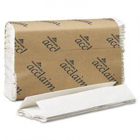 Georgia Pacific® Folded Paper Towels, 10-1/4x13-1/4, White