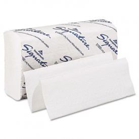 Georgia Pacific® 2-Ply Folded Paper Towels, 9 1/5 x 9 2/5, White
