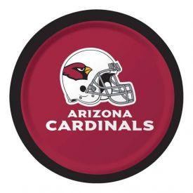 NFL Arizona Cardinals Appetizer or Dessert Paper Plates Sturdy Style 7