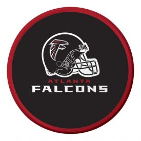 NFL Atlanta Falcons Appetizer or Dessert Paper Plates 7