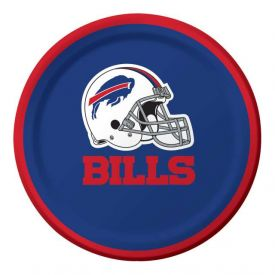 NFL Buffalo Bills Appetizer or Dessert Paper Plates 7
