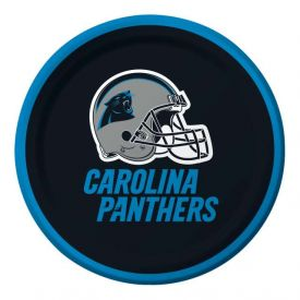 NFL Carolina Panthers Appetizer or Dessert Paper Plates 7