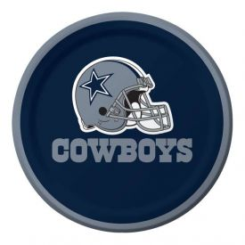 NFL Dallas Cowboys Appetizer or Dessert Paper Plates 7
