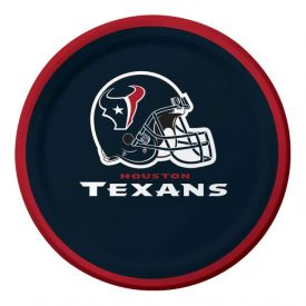 NFL Houston Texans Appetizer or Dessert Paper Plates 7