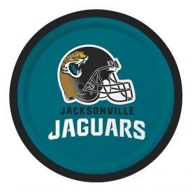 NFL Jacksonville Jaguars Appetizer or Dessert Paper Plates 7