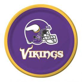 NFL Minnesota Vikings Appetizer or Dessert Paper Plates 7