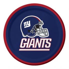 NFL New York Giants Appetizer or Dessert Paper Plates 7