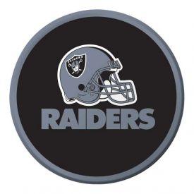 NFL Oakland Raiders Appetizer or Dessert Paper Plates 7