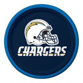 NFL Los Angeles Chargers Appetizer or Dessert Paper Plates 7