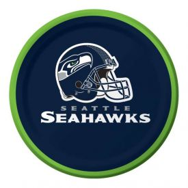NFL Seattle Seahawks Appetizer or Dessert Plates 7