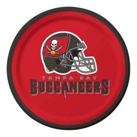 NFL Tampa Bay Buccaneers Appetizer or Dessert Plates 7