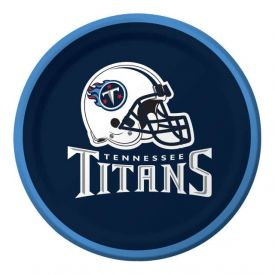 NFL Tennessee Titans Appetizer or Dessert Plates 7