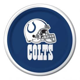 NFL Indianapolis Colts Appetizer or Dessert Paper Plates 7