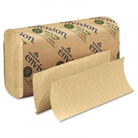 Georgia Pacific® Folded Paper Towels, 9-1/5x9-2/5, Brown