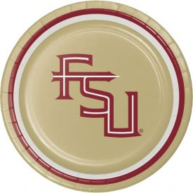 Florida State University Appetizer or Dessert Plates 7