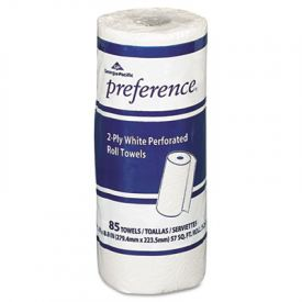 Georgia Pacific® Perforated Paper Towel Rolls, 8-7/8 x 11, White