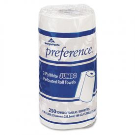 Georgia Pacific® Perforated Paper Towel Rolls, 8 4/5 x 11, White