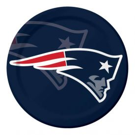 NFL New England Patriots Paper Dinner Plates 9