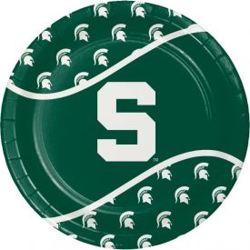 Michigan State University Paper Dinner Plates 9