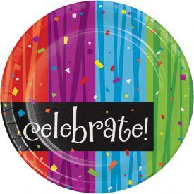 Milestone Celebrations Paper Dinner Plates 9