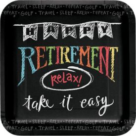 Retirement Chalk 9