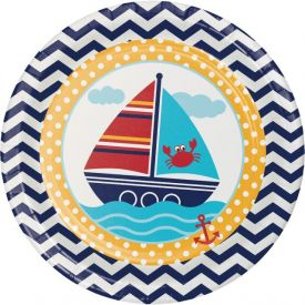 Ahoy Matey! Paper Dinner Plates 9