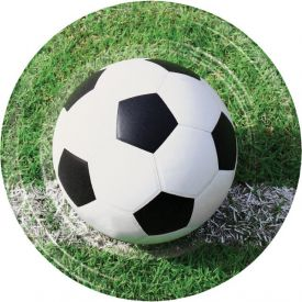Sports Fanatic Soccer Paper Dinner Plates 9